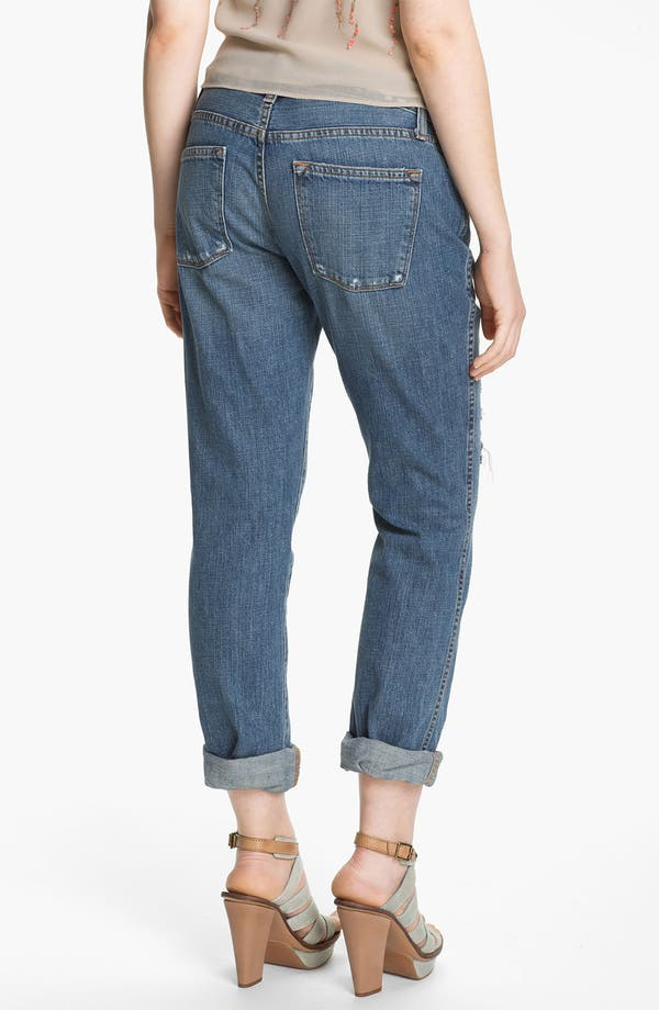 Alternate Image 2  - Two by Vince Camuto Destroyed Boyfriend Jeans