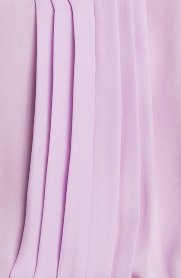 Alternate Image 5  - L'AGENCE Pleated Silk Blouse