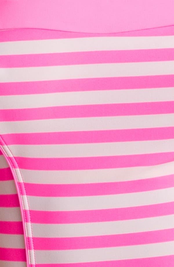 Alternate Image 3  - Ted Baker London 'Neon Stripe' One Piece Swimsuit