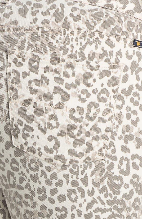 Alternate Image 3  - Lucky Brand 'Ginger' Print Capri Jeans (Plus Size)