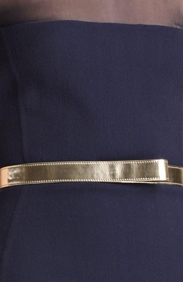 Alternate Image 3  - Oscar de la Renta Illusion Bodice Gown