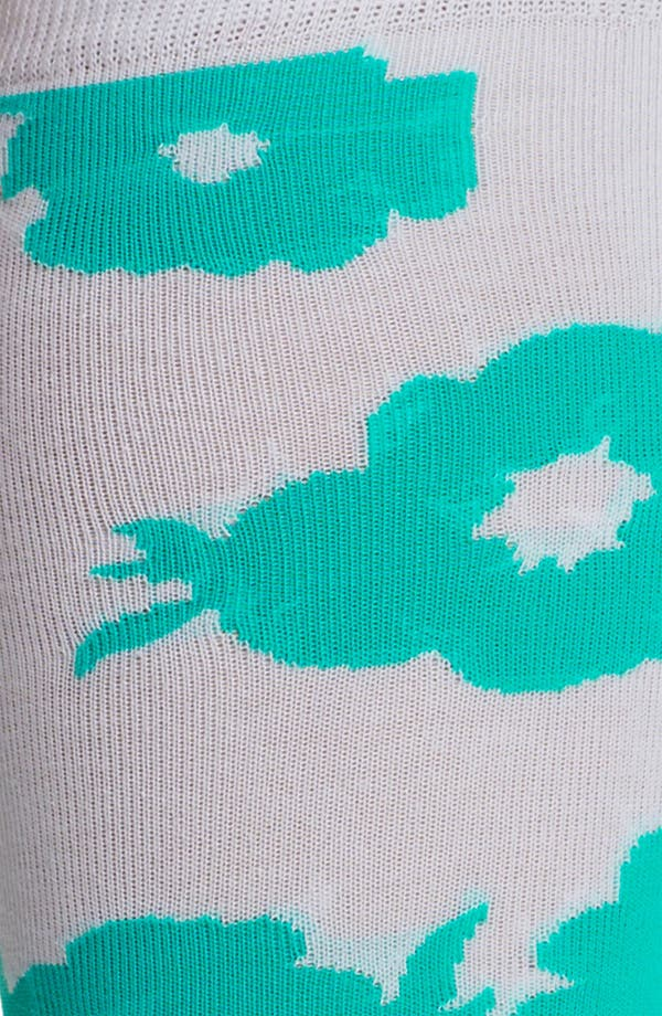 Alternate Image 2  - kate spade new york 'picnic floral' knee highs