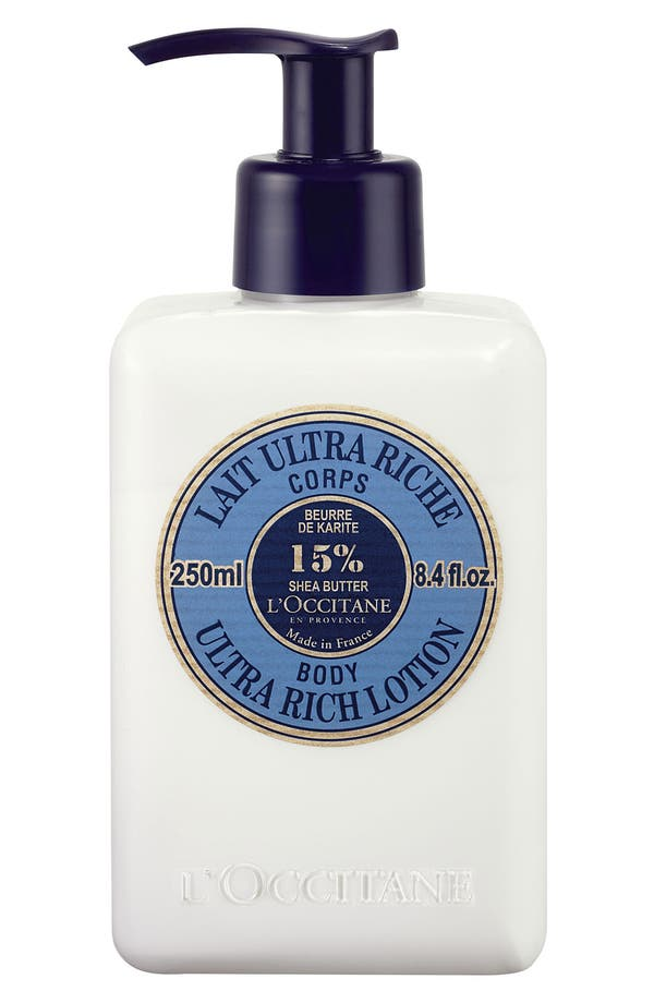 Alternate Image 1 Selected - L'Occitane Shea Ultra Rich Body Lotion