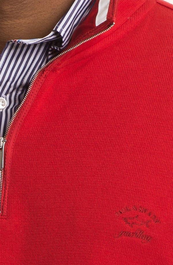 Alternate Image 3  - Paul & Shark 'Watershed' Quarter Zip Sweater