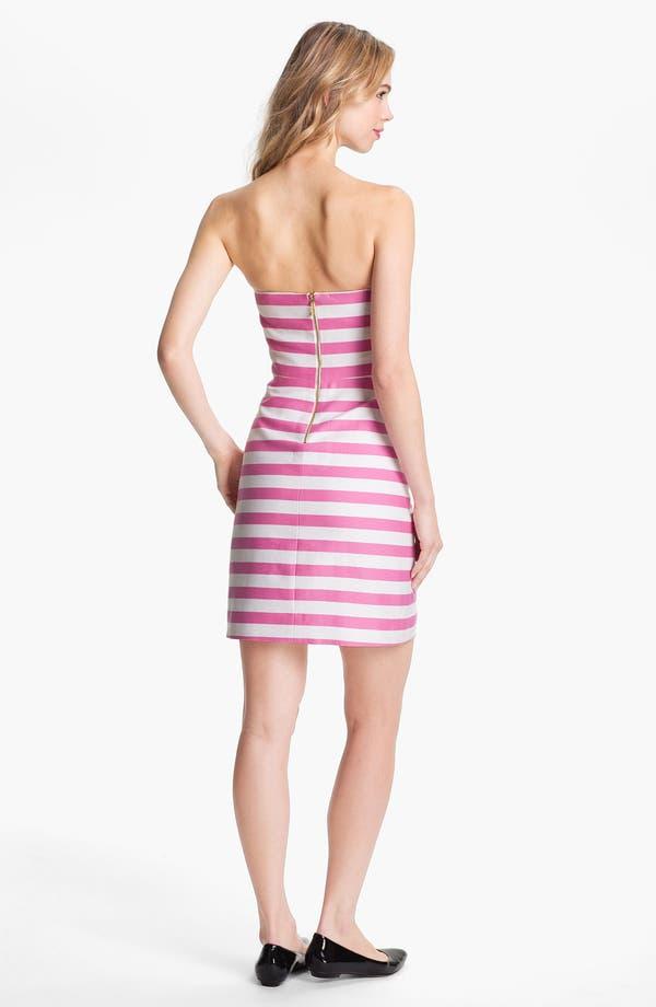 Alternate Image 2  - kate spade new york 'betsy' cotton & silk sheath dress
