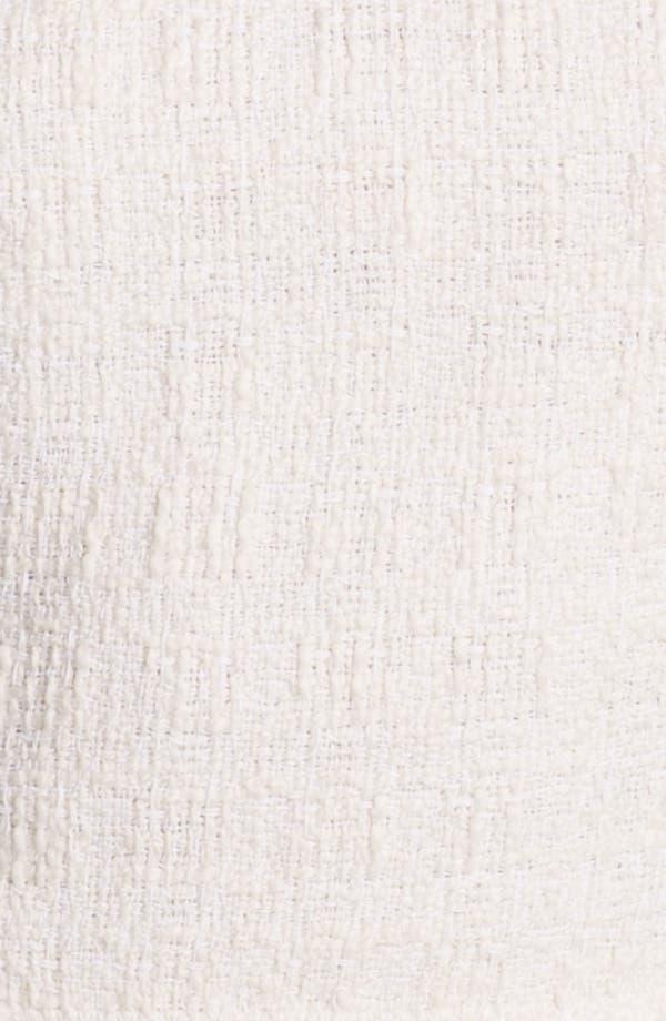 Alternate Image 3  - Rebecca Taylor Tweed & Leather Top