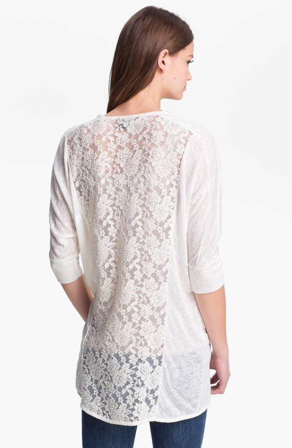 Alternate Image 1 Selected - MOD.lusive Lace Back Cardigan