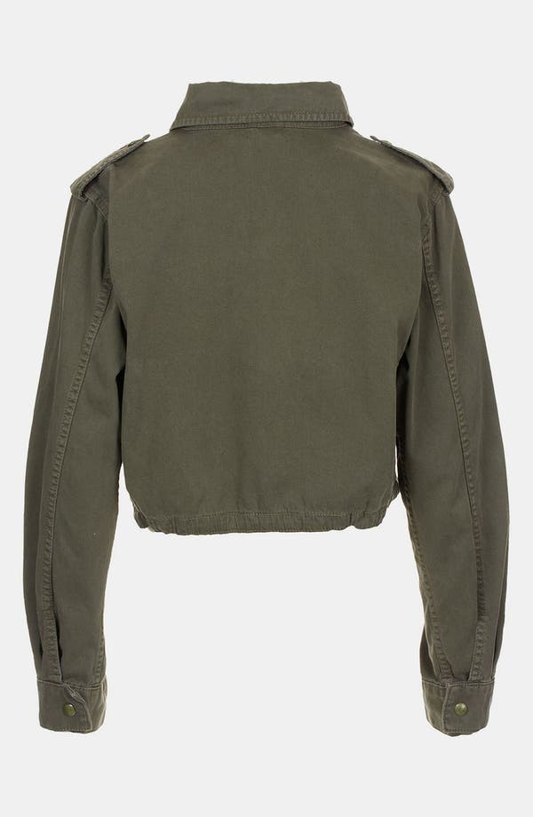 Alternate Image 2  - Topshop Crop Army Jacket