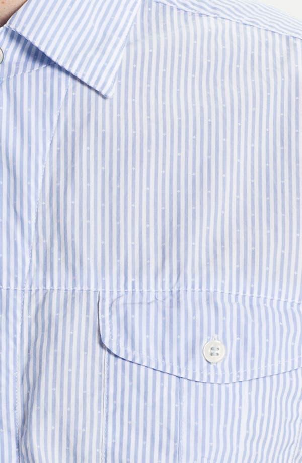 Alternate Image 3  - BOSS Orange 'Casoe' Stripe Woven Shirt