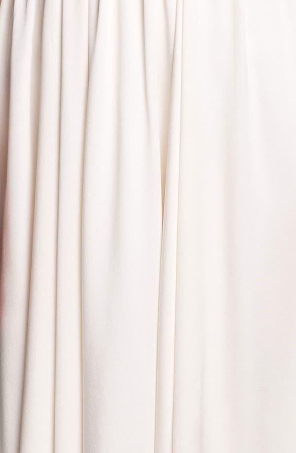 Alternate Image 3  - Nicole Miller 'Elizabeth' Crisscrossed Back Silk A-Line Gown