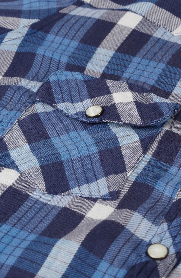 Alternate Image 3  - Topshop 'Atlanta' Plaid Shirt