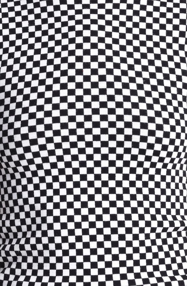 Alternate Image 4  - Michael Kors Optic Check Mock Neck Sweater