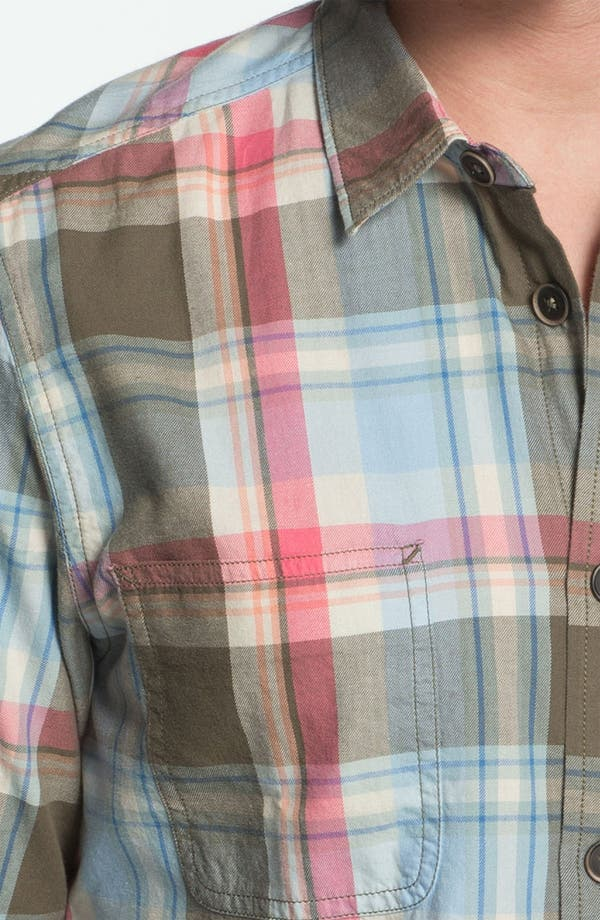 Alternate Image 2  - Ben Sherman Washed Plaid Woven Shirt