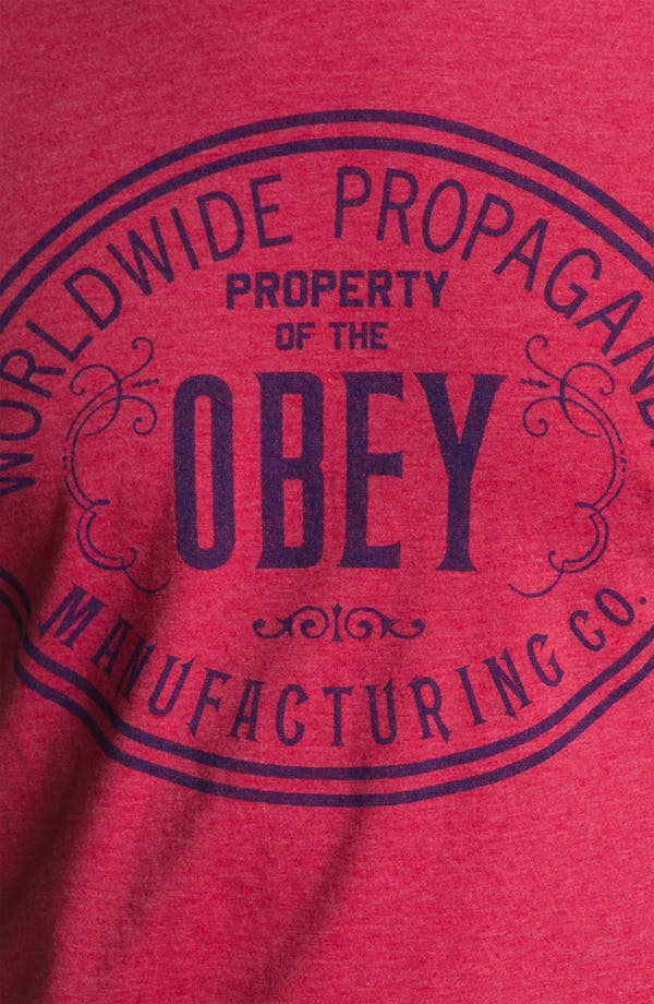 Alternate Image 3  - Obey 'Property of Obey' T-Shirt