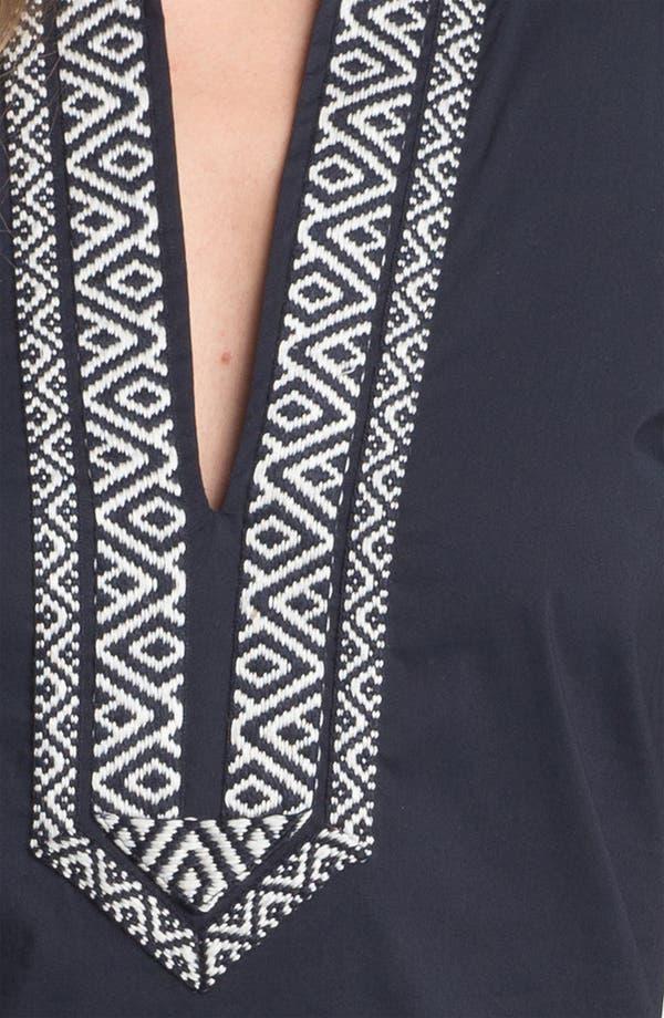 Alternate Image 3  - Tory Burch Poplin Shift Dress