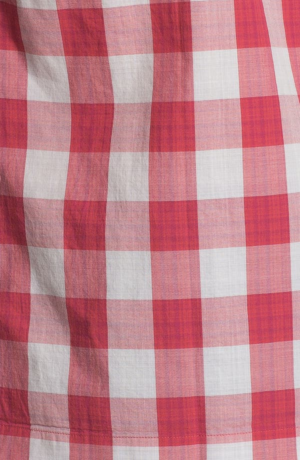Alternate Image 3  - Ben Sherman Gingham Check Short Sleeve Woven Shirt