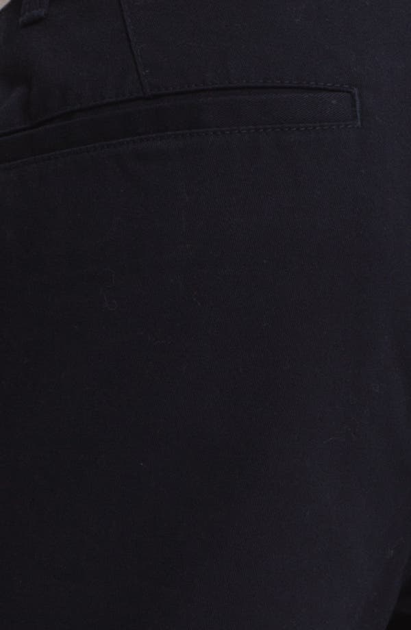 Alternate Image 3  - Topman Slim Fit Cotton Chinos