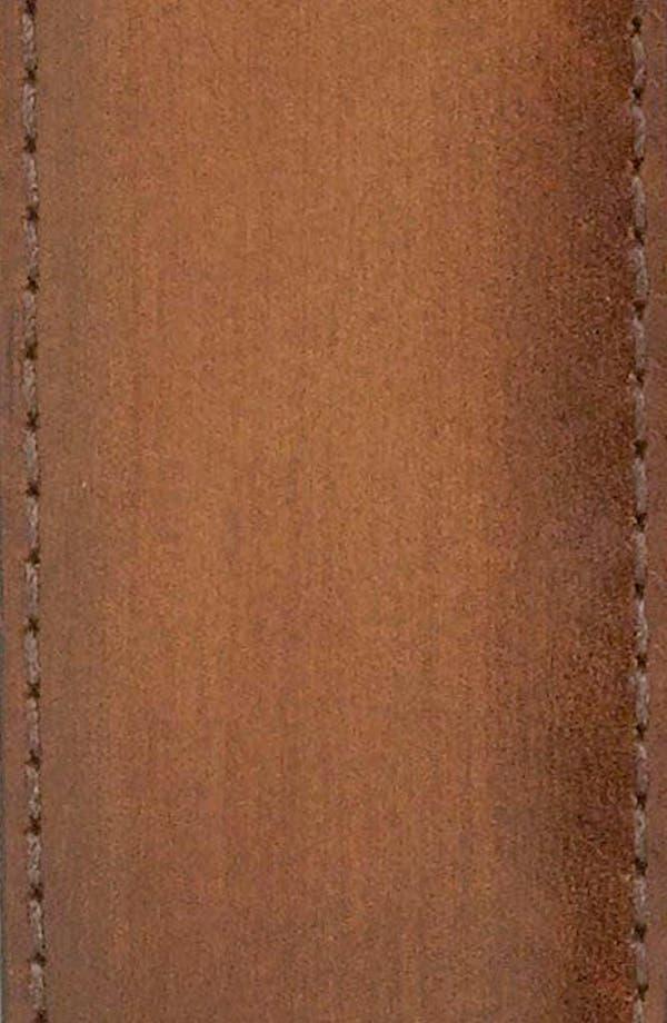 Alternate Image 2  - John W. Nordstrom Burnished Saddle Leather Belt