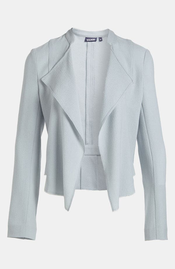 Alternate Image 1 Selected - Tildon 'Vintage' Drape Front Blazer