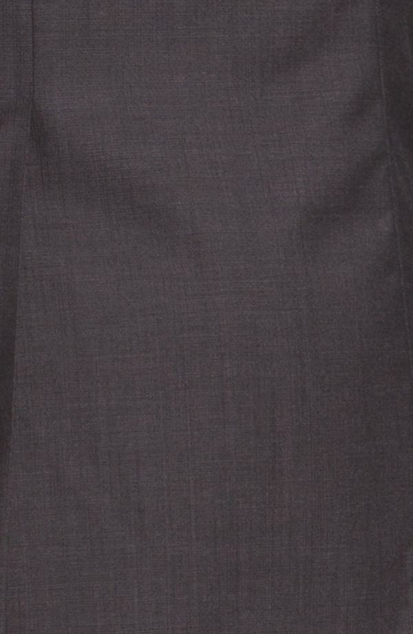Alternate Image 6  - BOSS 'Jam/Sharp' Trim Fit Dark Grey Suit