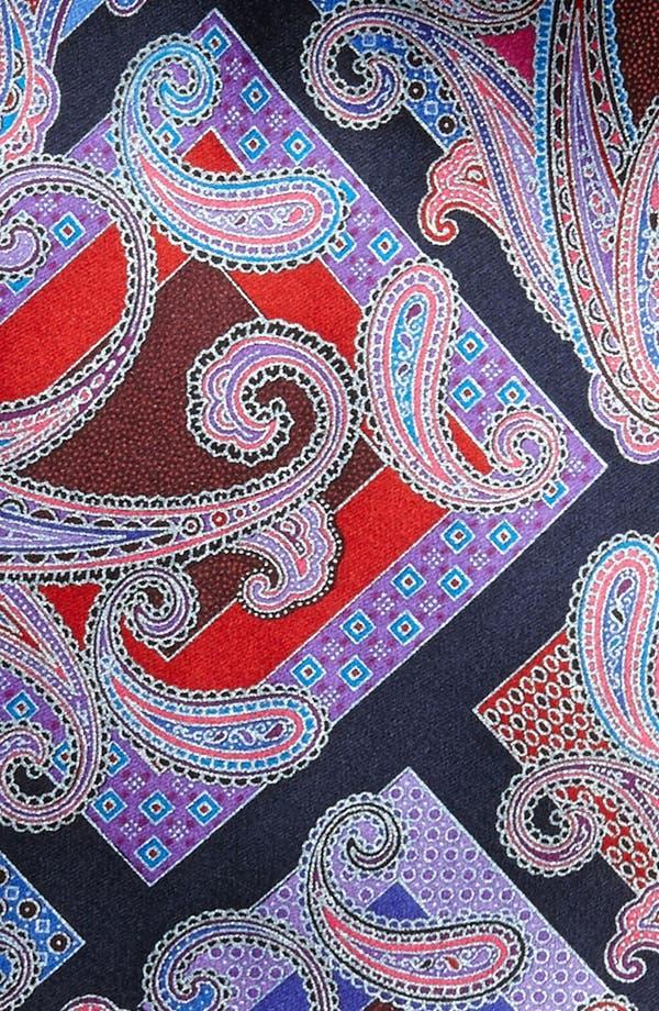 "Alternate Image 2  - Ermenegildo Zegna ""Quindici' Woven Silk Tie"