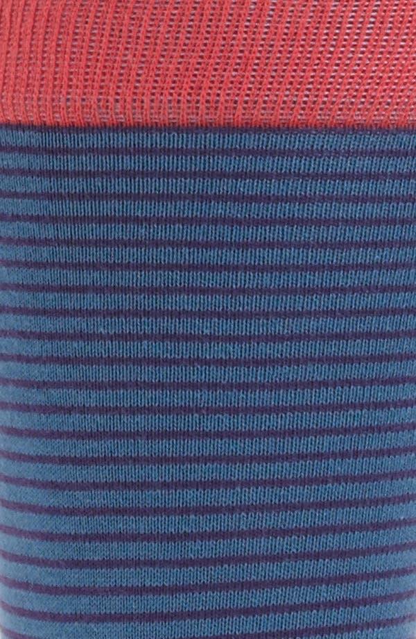 Alternate Image 2  - hook + ALBERT Stripe Socks