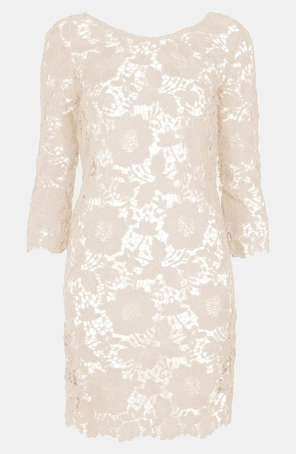 Alternate Image 1 Selected - Topshop Guipure Lace Cover-Up