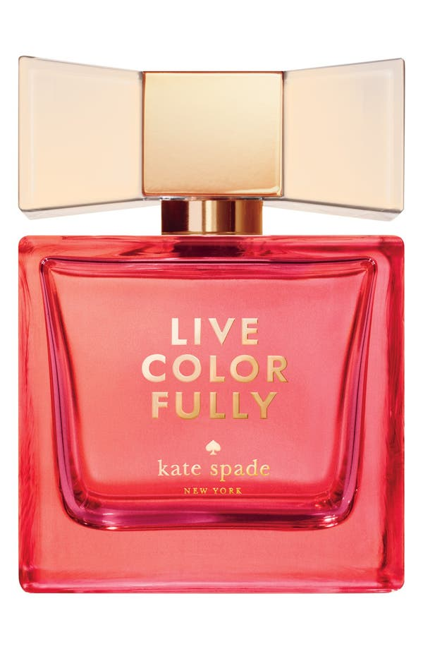 Alternate Image 1 Selected - kate spade new york 'live colorfully' eau de parfum