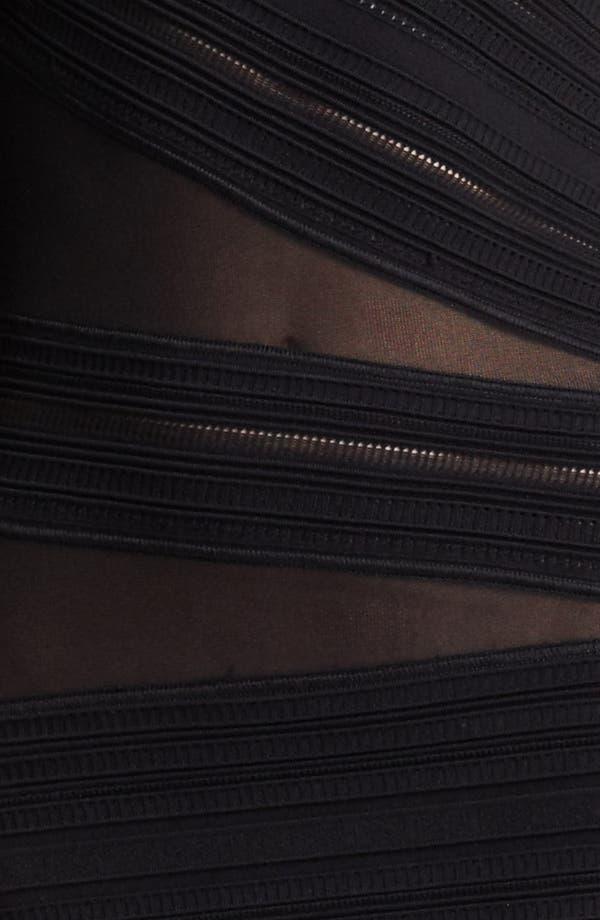 Alternate Image 3  - Roberto Cavalli Sheer Inset One Shoulder Gown
