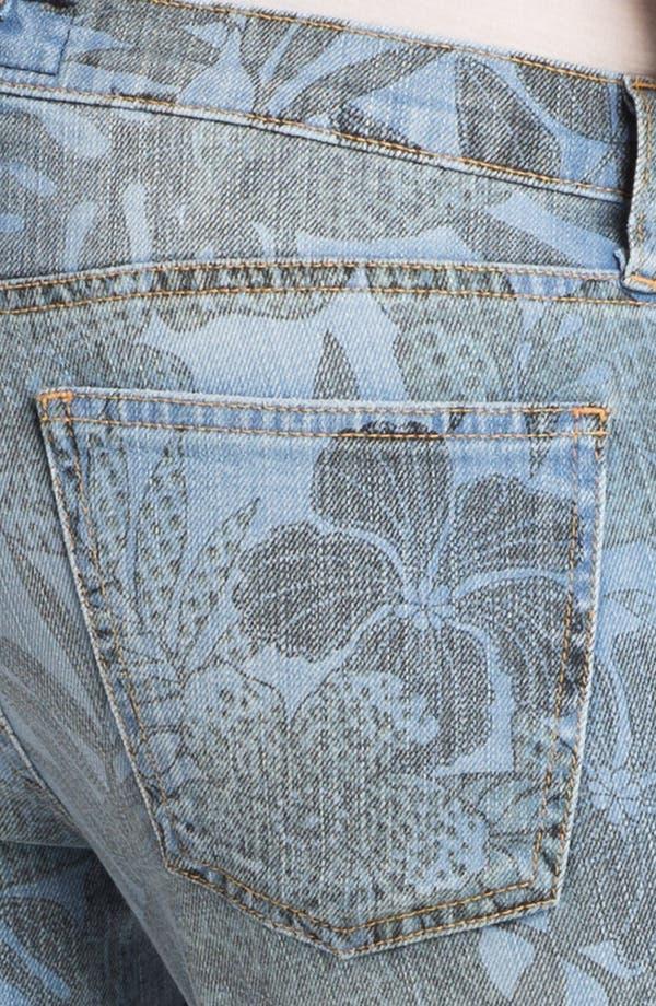Alternate Image 3  - Current/Elliott 'The Stiletto' Jungle Print Stretch Jeans