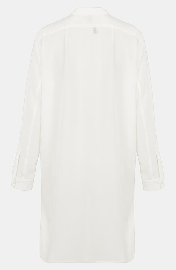 Alternate Image 2  - Topshop Boutique Silk Workwear Shirt