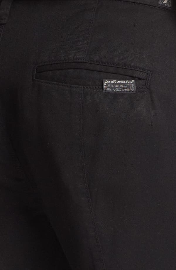 Alternate Image 3  - 7 For All Mankind® Twill Pants