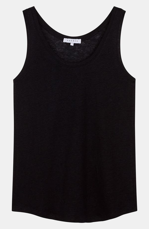 Alternate Image 1 Selected - sandro 'Test' Linen Tank