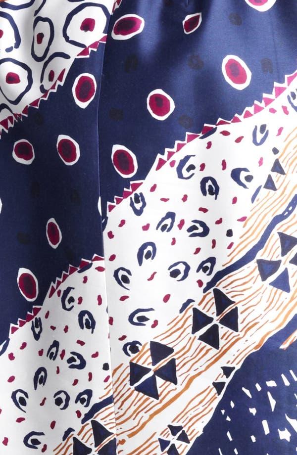 Alternate Image 3  - Oscar de la Renta Belted Print Dress
