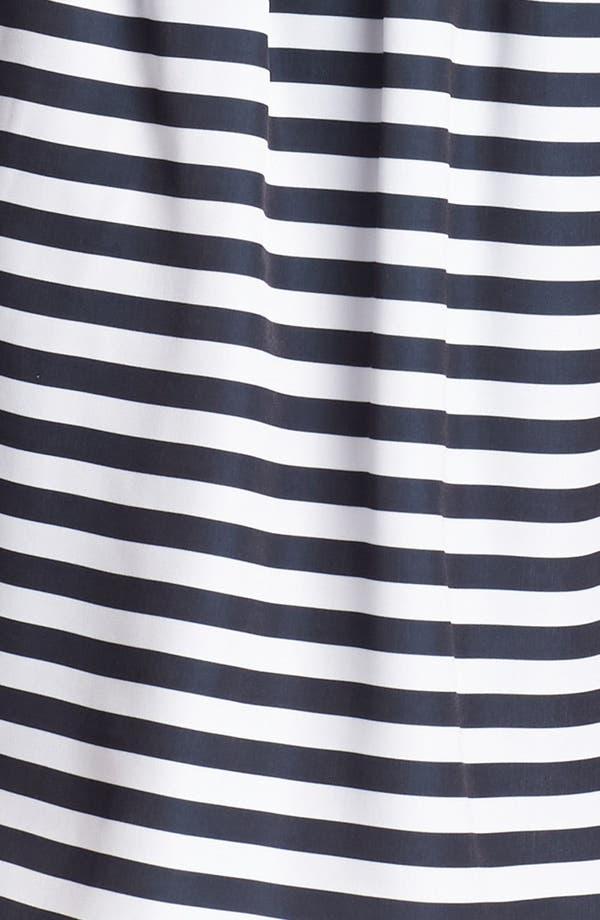 Alternate Image 3  - Living Doll Stripe Skater Skirt (Juniors) (Online Only)