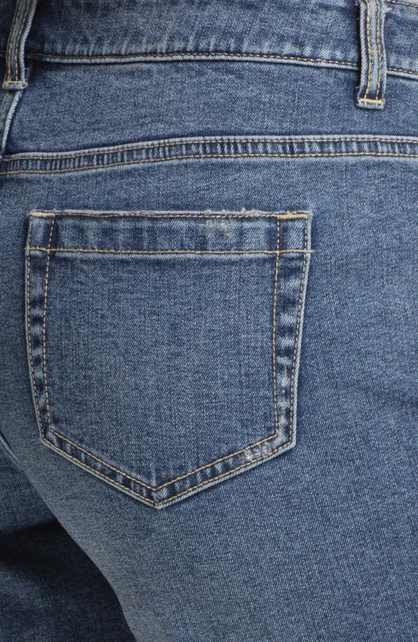 Alternate Image 5  - Two by Vince Camuto Distressed Denim Shorts