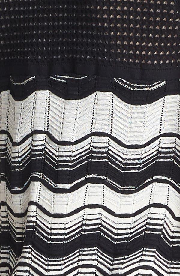 Alternate Image 3  - M Missoni Greek Key Stripe Dress