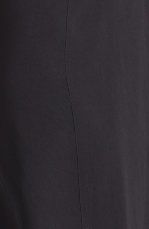Alternate Image 3  - Burberry London Flutter Hem Crepe Dress