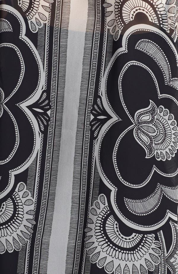 Alternate Image 3  - Evans Scarf Print Blouse (Plus Size)