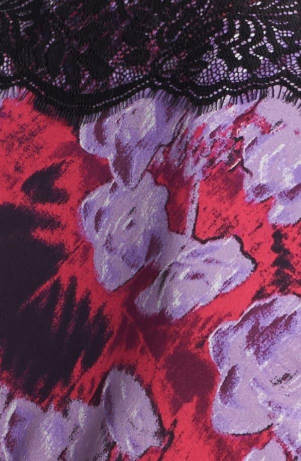 Alternate Image 3  - Classiques Entier® Lace Trim Silk Blend Jersey Top
