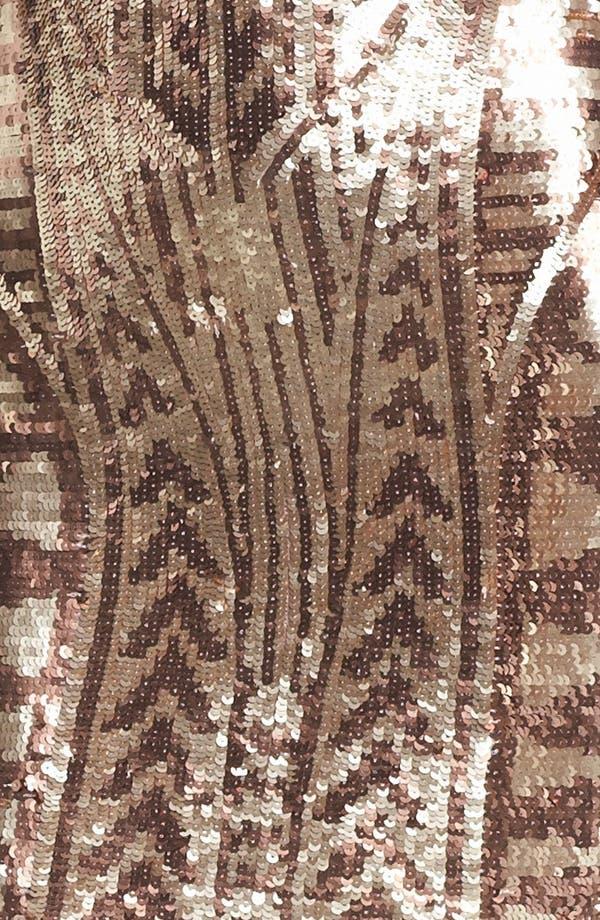 Alternate Image 3  - Aidan Mattox Sequin Minidress (Online Only)