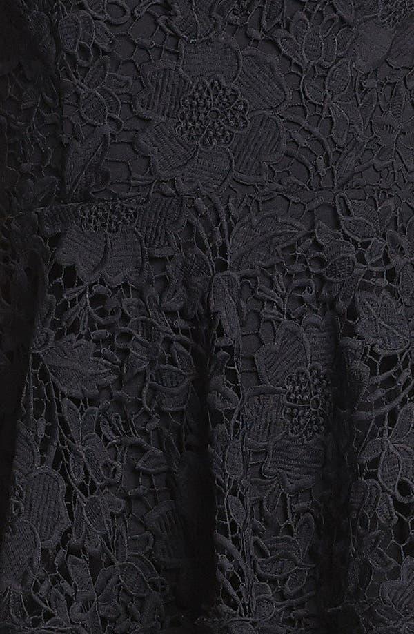 Alternate Image 4  - Betsy & Adam Lace Peplum Dress