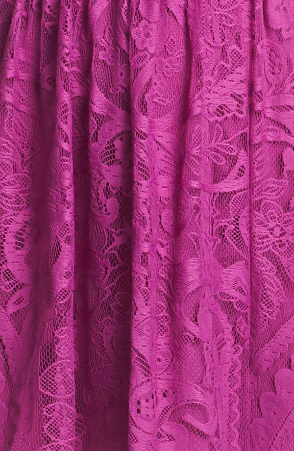 Alternate Image 3  - Nicole Miller Lace Fit & Flare Dress