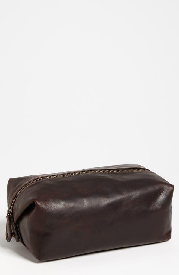 Alternate Image 1 Selected - Frye 'Logan' Leather Travel Kit