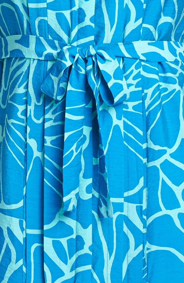 Alternate Image 3  - Adrianna Papell Print Pintucked Shirtdress (Plus Size)