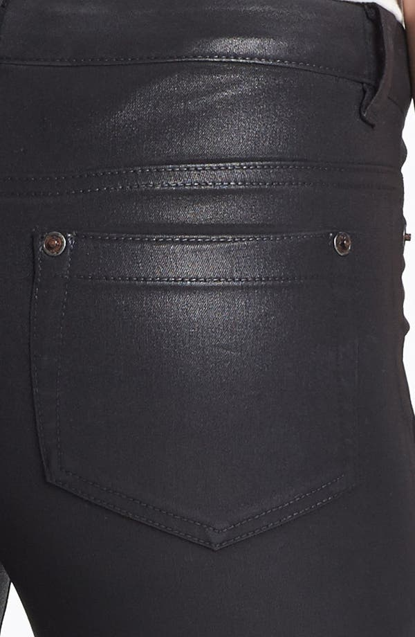 Alternate Image 3  - Two by Vince Camuto Coated Skinny Jeans