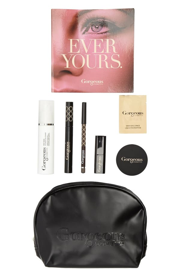 Alternate Image 1 Selected - Gorgeous Cosmetics 'Back to Basics' Makeup Set ($136 Value)