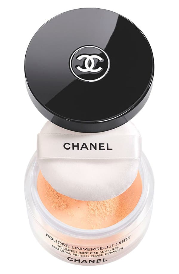 Alternate Image 1 Selected - CHANEL NUIT INFINIE DE CHANEL POUDRE UNIVERSELLE LIBRE NATURAL FINISH LOOSE POWDER