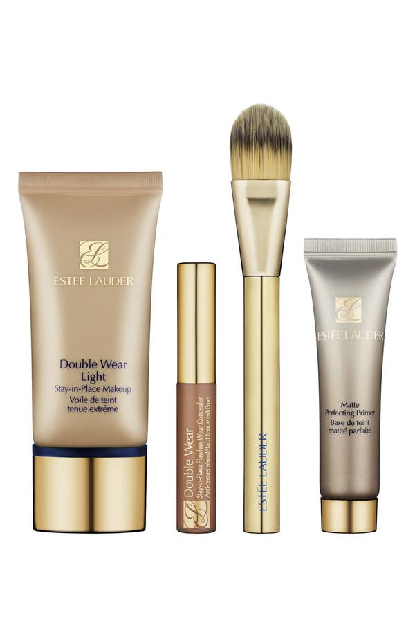 Alternate Image 1 Selected - Estée Lauder 'Double Wear - Makeup Lesson' Kit ($80 Value)
