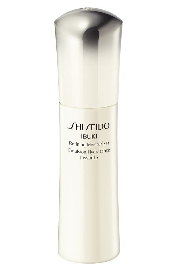 Alternate Image 1 Selected - Shiseido 'Ibuki' Refining Moisturizer